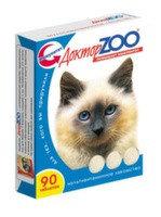 Доктор ZOO Витамины для кошек Здоровый Иммунитет 90таб, фото 1