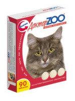 Доктор ZOO Витамины для кошек Здоровье Кожи и Шерсти