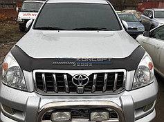 Дефлекторы окон и капота (Ветровики/мухобойки) Toyota LC Prado 120 (2002-2009)