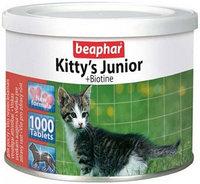 Витамины для котят, Kitty's Junior + Biotin 1 таблетка, фото 1