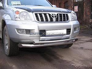 Защита переднего бампера (дуга) LAND CRUISER PRADO (J120) 2002 - 2009