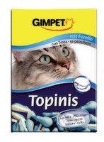 """Gimpet Витаминные """"Мышки"""" с таурином и форелью для кошек,190шт"""