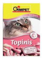 """Gimpet Витаминные """"Мышки"""" с таурином и творогом для кошек,190шт, фото 1"""