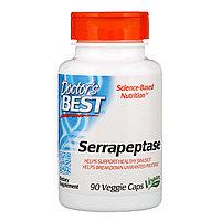 Серрапептаза (Best Serrapeptase), 90 капсул, Doctor's Best.