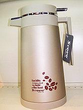 Термос Scovo со стеклянной колбой 1.2 литра