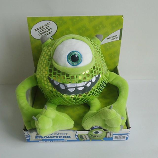 """Мягкая игрушка """"Майк Вазовски"""" (смеется, вибрирует), 15 см"""