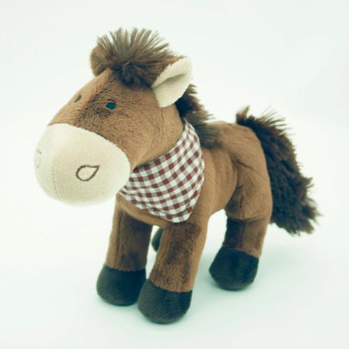 """Мягкая игрушка """"Коричневая лошадь"""", 18 см"""