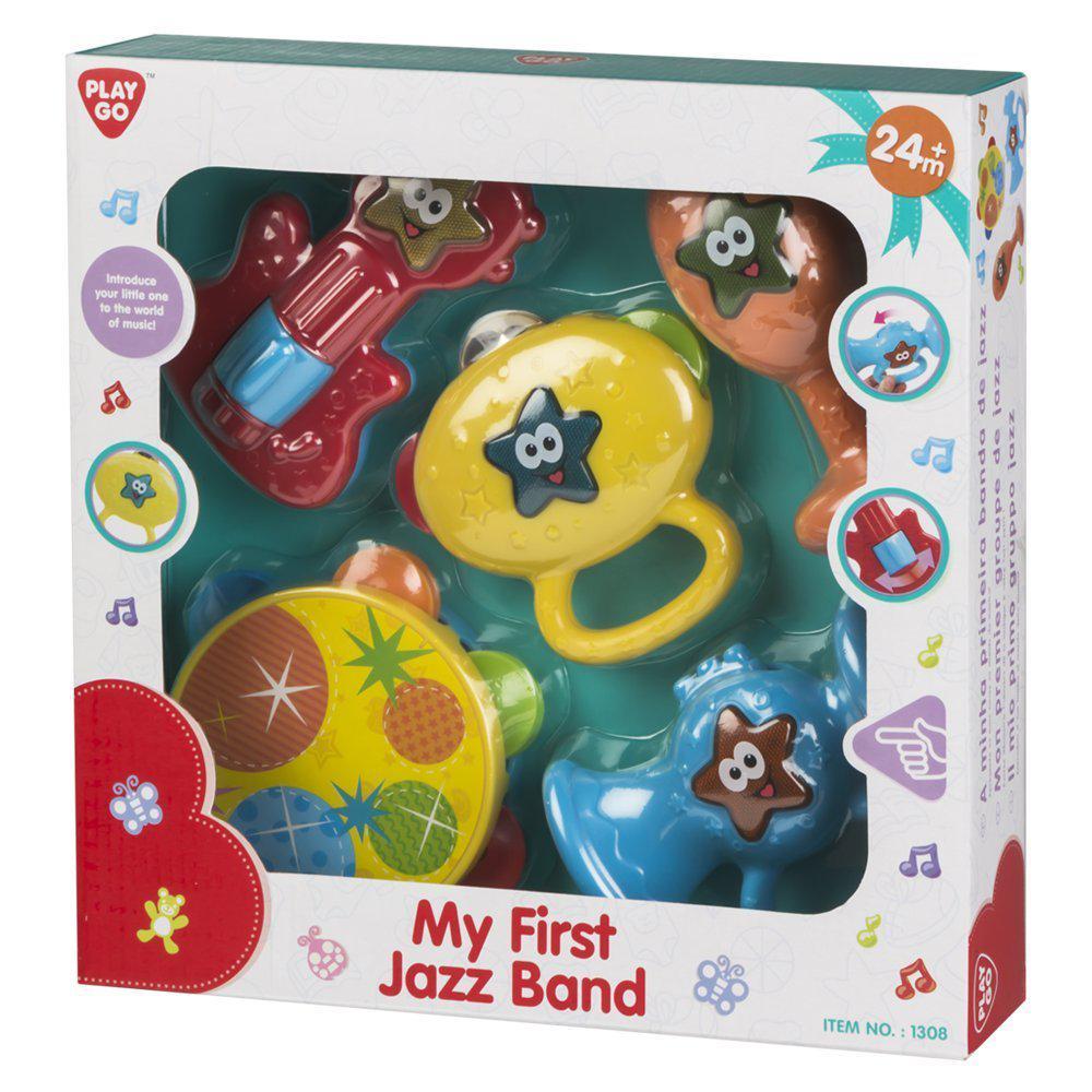 "Play Go Музыкальный набор ""Моя первая джазовая банда"""