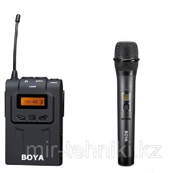 Набор беспроводного репортерского радиомикрофона BY-WM6-K2 (BY-WM6R+BY-WHM8)
