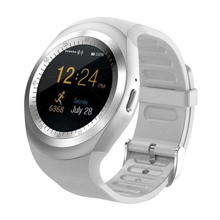 Умные часы Smart Watch Y1 (серебристые), фото 2