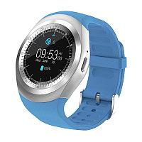 Умные часы Smart Watch Y1 (серебристо-голубые)