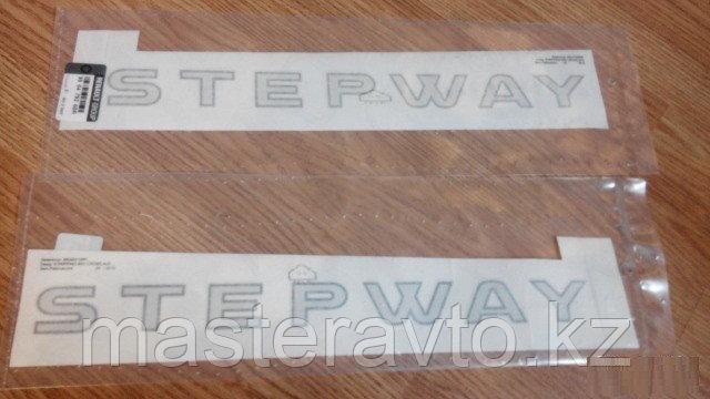 Наклейка декоративная на дверь LH Renault Sandero STEPWAY 2010>(NEW)