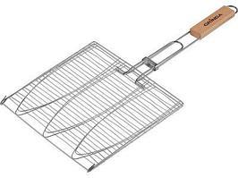 Решетка-гриль для рыбы, трехместная Grinda Barbecue