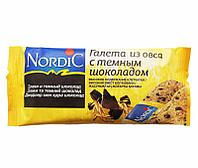 Галеты Нордик из овса с темн.шокол. 30 г
