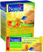 Галеты Нордик из овса с фруктами (10*30г) 300 г