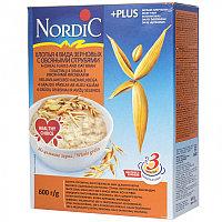 Хлопья Нордик 4-х зерновые с отрубями 600 г