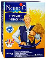 """Хлопья Нордик овсяные """"Геркулес финский Nordic"""" 600 г"""