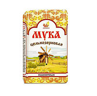 Мука Дивинка пшеничная цельнозерновая 1000г