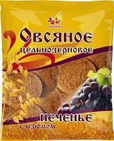 Печенье Дивинка овсяное ц/з с изюмом 400г