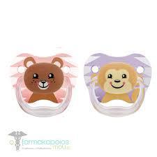 Dr. Browns Пустышка PreVent БАБОЧКА, 6+ месяцев, набор 2 шт, для девочек