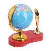 Габариты и вес Размер  10 см × 6 см × 10 см Вес  74 г Особенности Тип глобуса  Сувенирный Особенности глобусов