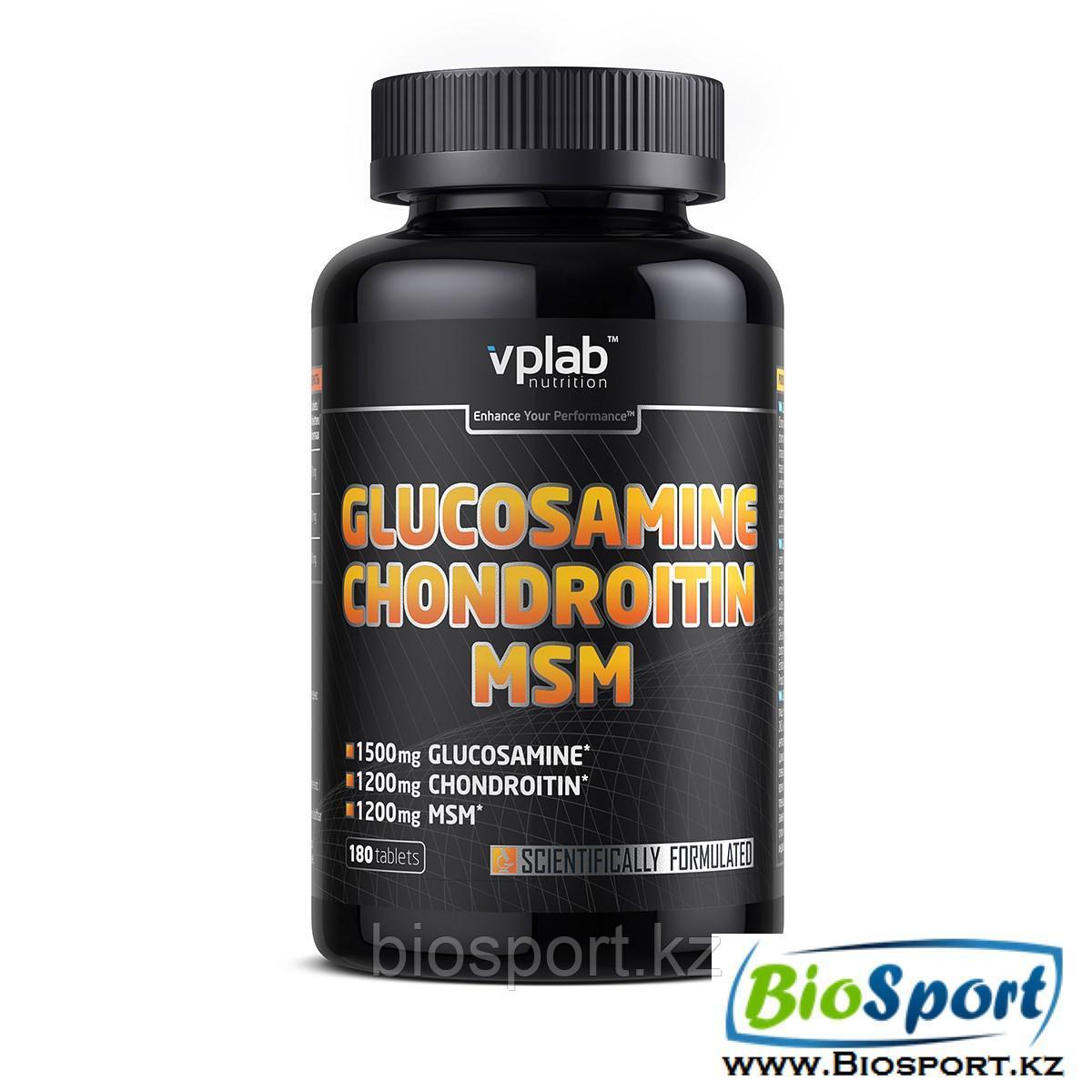 Glucosamine Chondroitin MSM 180 tab, VPLab.
