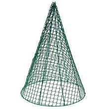Каркас для вьющихся, d=30 см, h=43 см, зелёный