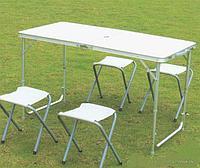 Стол складной с 4 стульями для пикника