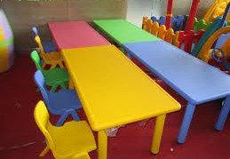 Стол детский пластиковый прямоугольный