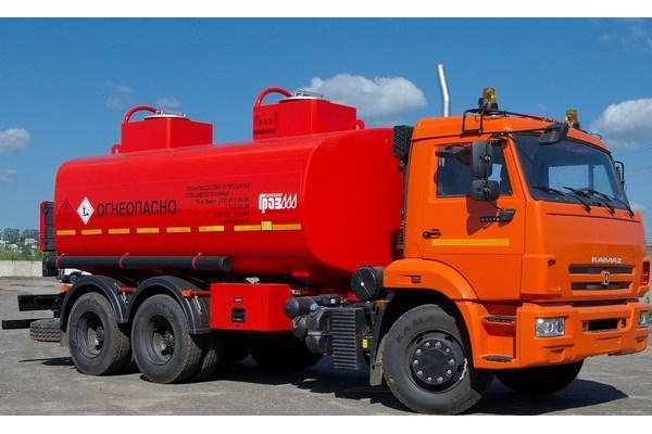 Авто-топливозаправщик АТЗ-17 КАМАЗ 65111-50