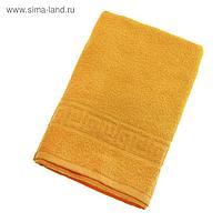 Полотенце махровое однотонное Антей цв желтый 50*90см 100% хлопок 430 гр/м2