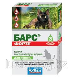 """Барс """"Форте"""" капли для кошек от блох и клещей, (фипронил)"""