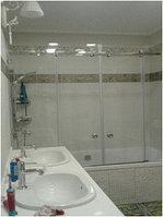 "Стеклянный экран. Раздвижная на ванну. Две двери. 8 мм. ""А29"""
