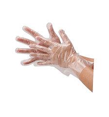 Перчатки полиэтиленовые L (100/10000) (1 упаковка - 100шт/50пар)