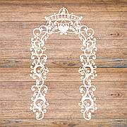 """Свадебная ширма """"Молодожены"""", свадебная арка, фотозона, ажурные тумбы"""