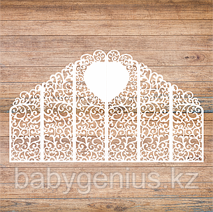 Свадебные ширмы с сердцем, свадебные арки, фотозоны,  ажурные тумбы, фото 2
