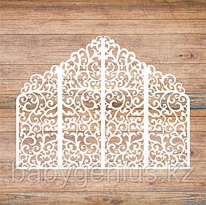 Свадебные ширмы, свадебные арки, фотозоны, ажурные тумбы, фото 2
