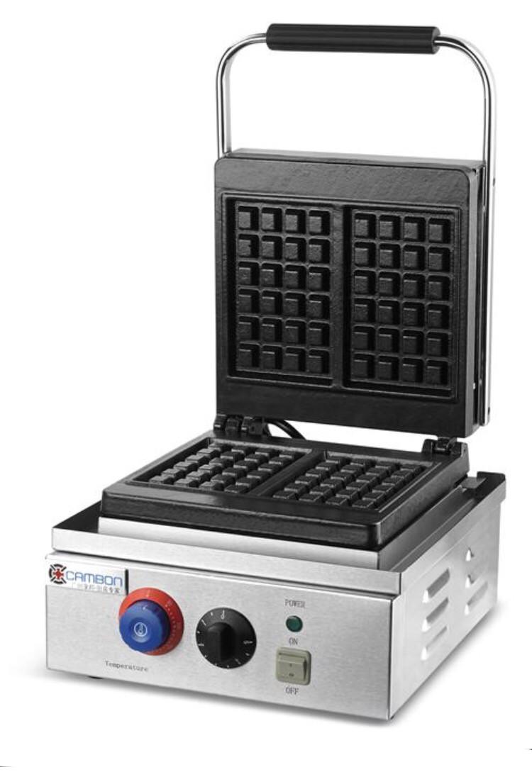 Вафельница промышленная для бельгийских вафель ZH-801