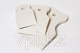 Набор шпателей резиновый белый 40мм, 60мм, 80мм, Matrix