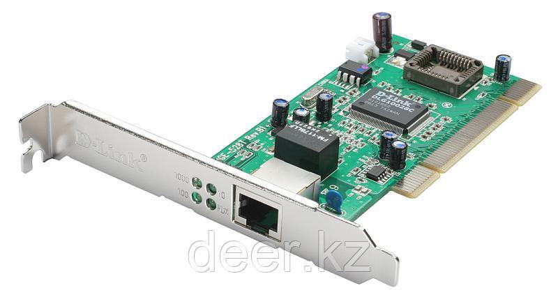 D-Link DGE-528T Сетевой адаптер 10/100/1000 для шины PCI