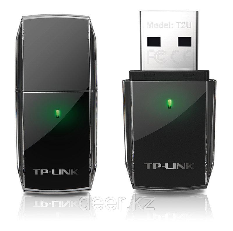 TP-Link Archer T2U AC600 Беспроводной двухдиапазонный сетевой USB-адаптер
