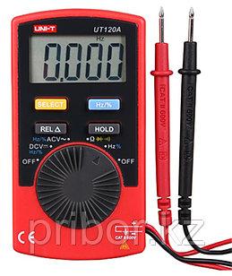 Мультиметр цифровой карманный UNI-T UT120A. Внесён в реестр РК