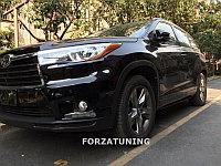 Электрические выдвижные пороги подножки для Toyota Highlander 2015-2017, фото 1