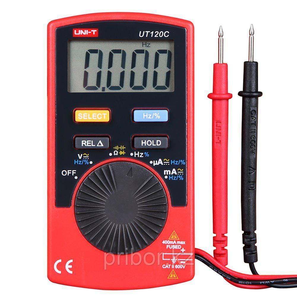 Мультиметр цифровой карманный UNI-T UT120C. Внесён в реестр РК