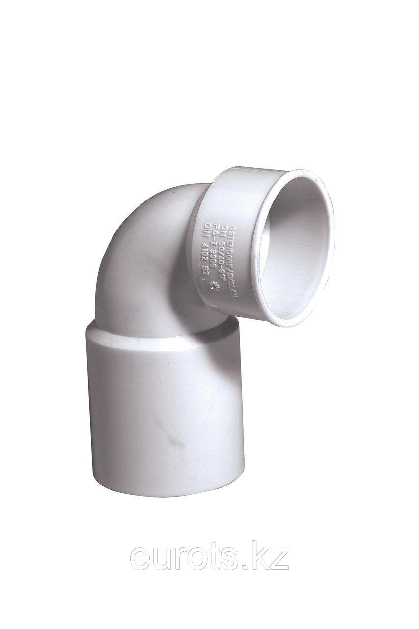 SKSW - отвод сифонный 90*