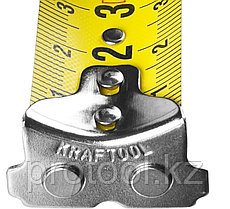 Рулетка KRAFTOOL GRAND, обрезиненный пластиковый корпус, 8м/25мм, фото 3