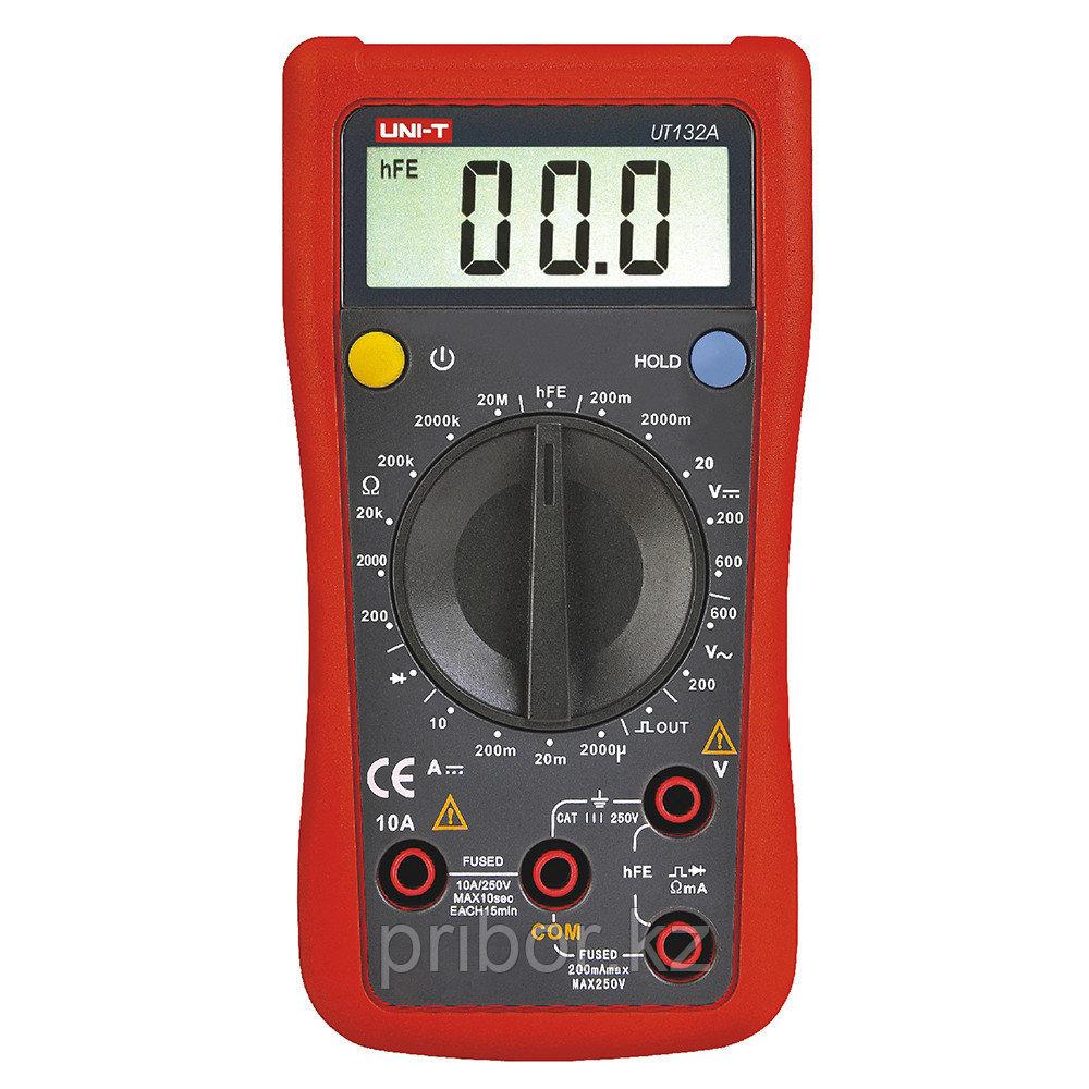 Мультиметр цифровой UNI-T UT132A. Внесён в реестр РК
