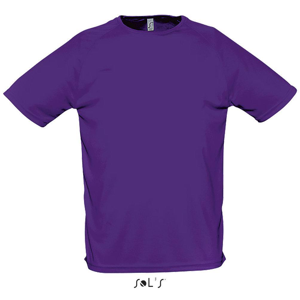 Футболка Dry Fit | Sols Sporty XL фиолетовый