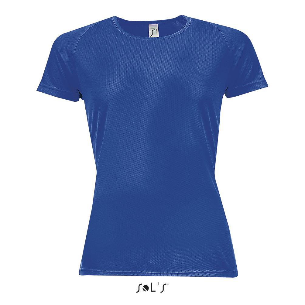 Футболка Dry Fit   Sols Sporty women XS синий
