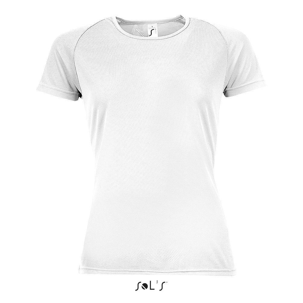 Футболка Dry Fit | Sols Sporty women XS белый